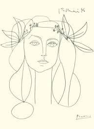picasso u0027s u0027head of a woman u0027 illustration pinterest picasso