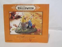 snow village halloween new dept 56 halloween snow village accessories let u0027s go to the