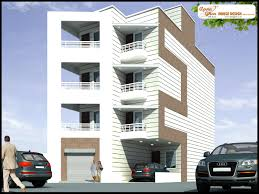 Home Design For Ground Floor by 3 Bedrooms Independent Floor Design In 176m2 8m X 22m Ground