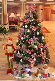 small christmas tree with decorations u2013 home design and decorating