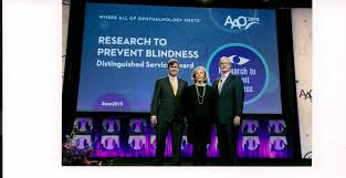 Preventing Blindness Rpb Receives Distinguished Service Award From Aao Research To