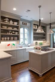 gray cabinet paint colors transitional kitchen benjamin