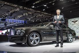 bentley mulsanne 2014 bentley mulsanne paris motor show 2014