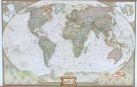 world map wall murals national geographics world map 6 by 10 feet goes up in 3 strips