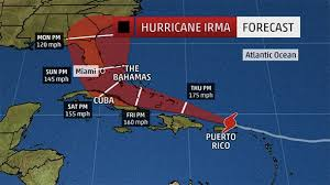 hurricane irma deadly storm on the path to florida as trump u0027s