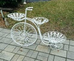 Wrought Iron Garden Decor Bike Planter Garden U2013 Exhort Me