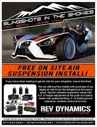 free air ride installs at this years slingshots in the smokies