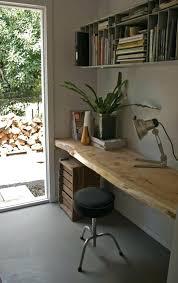 bureau en pin massif bureau en pin brut meubles en bois brut bureau suspendu bois brut