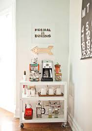charming coffee station design ideas for starting your day off