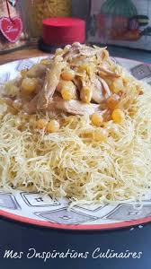 cuisine traditionnelle algeroise rechta au poulet sauce blanche cuisine algérienne le