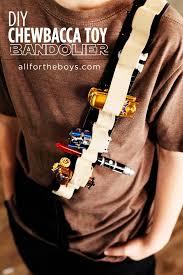 diy chewbacca toy bandolier chewbacca star wars crafts and toy