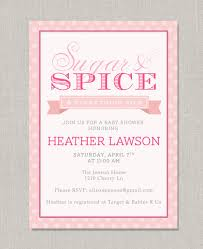 sugar and spice and everything baby shower sugar and spice baby shower invitations frenchkitten net
