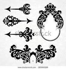 ornament arrow stock images royalty free images vectors