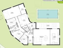plan de maison 5 chambres plain pied plan de maison plain pied 5 chambres maison moderne plain pied 5