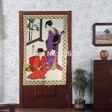 femme de chambre x japonais noren antique femmes de ménage embelli 85 cm x 150 cm porte
