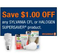 printable coupons and deals u2013 1 off any one sylvania cfl or