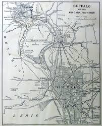 Buffalo New York Map Buffalo Of Today