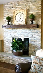 Stacked Stone Around Fireplace by Stacked Stone Fireplace Designs And The Decors Around Them
