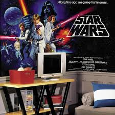 amazon com roommates jl1217m star wars classic prepasted chair from the manufacturer star wars star wars wall murals