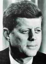 <b>John Fitzgerald</b> Kennedy (*1917, † 1963, von 1961 bis 1963 Präsident der <b>...</b> - Kennedy