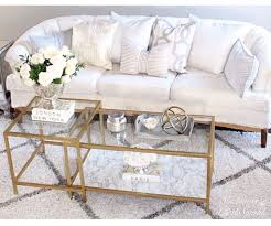 Diy Woodworking Coffee Table by Best 25 Glass Coffee Tables Ideas On Pinterest Gold Glass