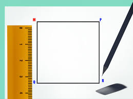 Draw A Radius On A Map How To Draw A Square 9 Steps With Pictures Wikihow