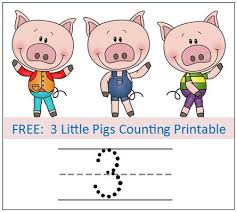3 pigs story sequence printables worksheets