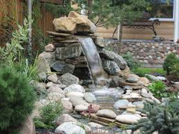 Small Garden Waterfall Ideas Small Backyard Makeovers Ponds And Waterfalls Ideas Ecbafdeaeff