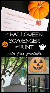 Halloween Pictures Printable Free Printable Halloween Scavenger Hunt Edventures With Kids
