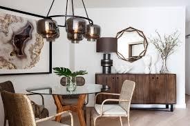 mirror in dining room interior design dining room contemporary