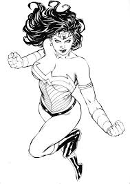 wonder woman by fredbenes on deviantart coloring pages for