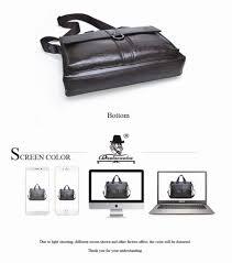 Men S Office Colors by Split Leather Bag 2017 Laptop Handbag Flap Over Mens Leather