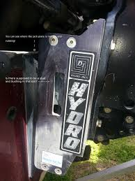 old detwiler u0027hydro jack u0027 manual jackplate