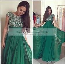 bling beaded crystal prom dresses 2016 cheap a line scoop cap