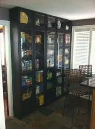 Using Bookcases In Kitchens DIY Pantry Using IKEA Billy - Kitchen pantry cabinet ikea