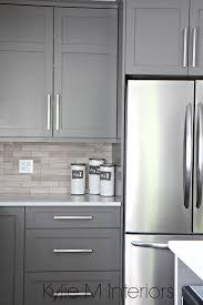 kitchen marble backsplash kitchen cabinets paitned benjamin moore amherst gray driftwood