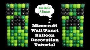 minecraft balloons minecraft balloon wall balloon decoration tutorial