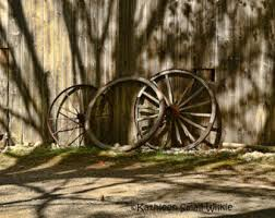 Wagon Wheel Home Decor Wagon Wheel Etsy