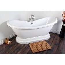 58 Bathtub Bathtubs Idea Interesting Bathtub With Center Drain Small