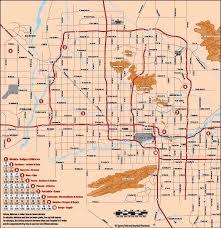 Arrowhead Stadium Map Mlb Spring Training Stadium Map And Cactus League Roundtripticket Me