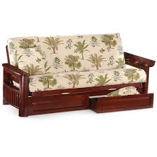 furniture cheap futons with floral motif with storage for home