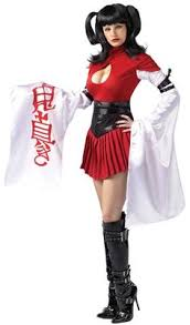 China Doll Costume Women Hellowen Costumes