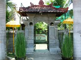 navigator indonesia activity page for bali orchid garden entrance