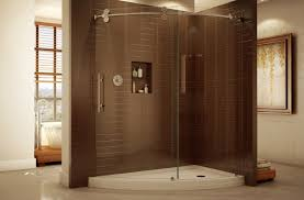 shower pleasant shower stall one piece shining shower stall