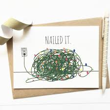 funny christmas card tangled christmas lights funny xmas