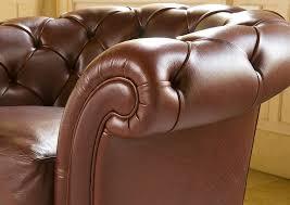 Sofa Leather Fabric Chesterfield Sofa Leather Fabric 3 Seater Oxford Berto