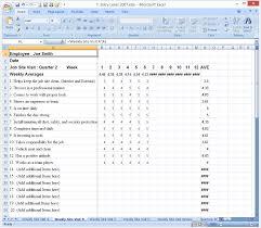 doc 698969 employee evaluation forms sample u2013 evaluation form