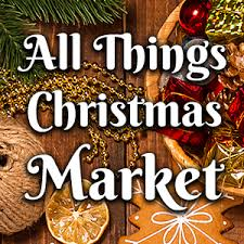Christmas Decorations In The Shops by