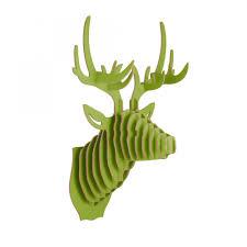 trophee elephant carton trophée de chasse tête de cerf en bois tête d u0027animal cult uk