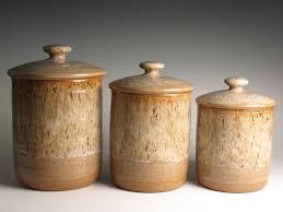 kitchen canister set antique copper set of 4 image superior
